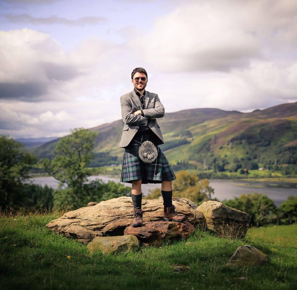 scotland stereotypes kilt tartan