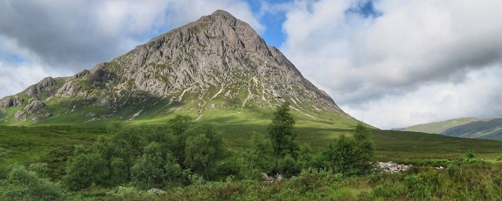 caledonian light at glen coe