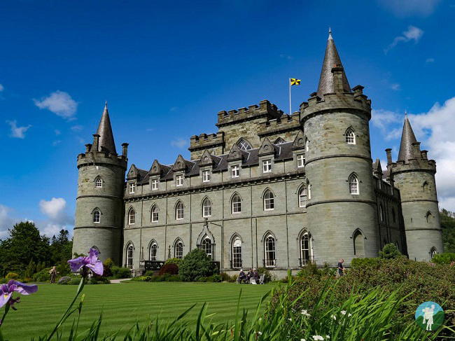 inveraray castle glasgow to inveraray