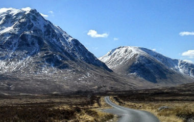 road to glen etive glen coe