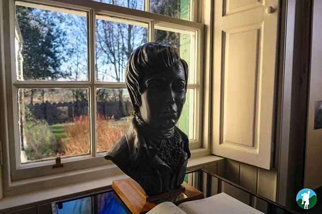robert burns bust ellisland