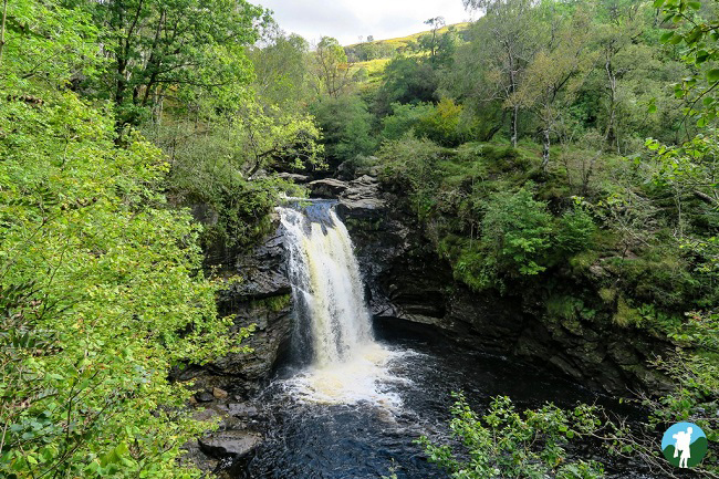 falloch falls loch lomond guide