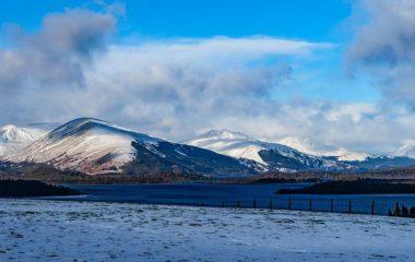 loch lomond guide snow view