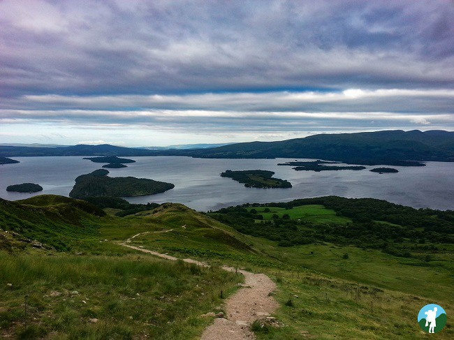 conic hill loch lomond guide walks