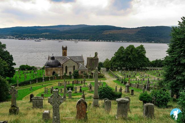 argyll road trip mausoleum
