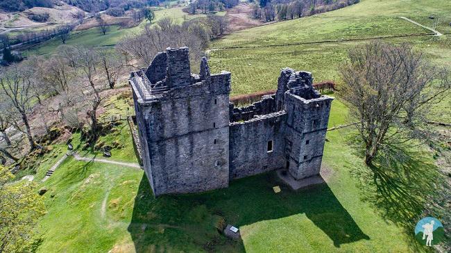 carnasserie castle argyll road trip