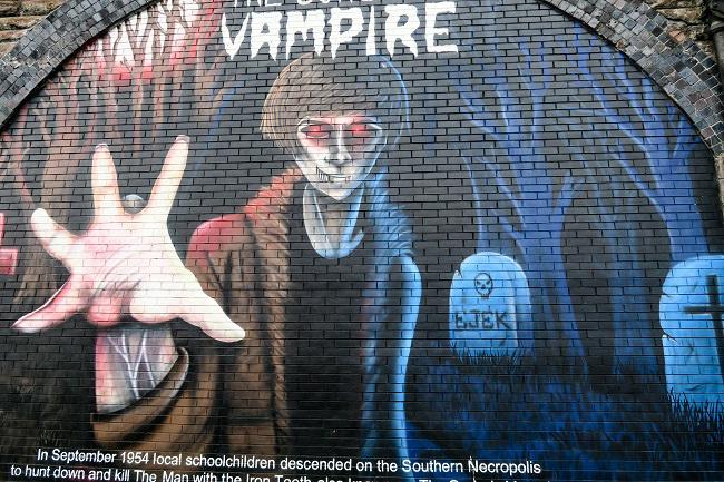 gorbals vampire street art glasgow tour