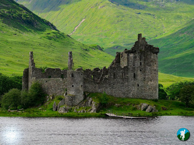 kilchurn castle argyll road trip