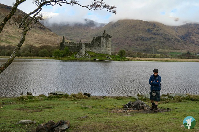 travels with a kilt kilchurn castle