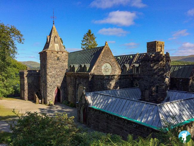 st conan's kirk argyll road trip