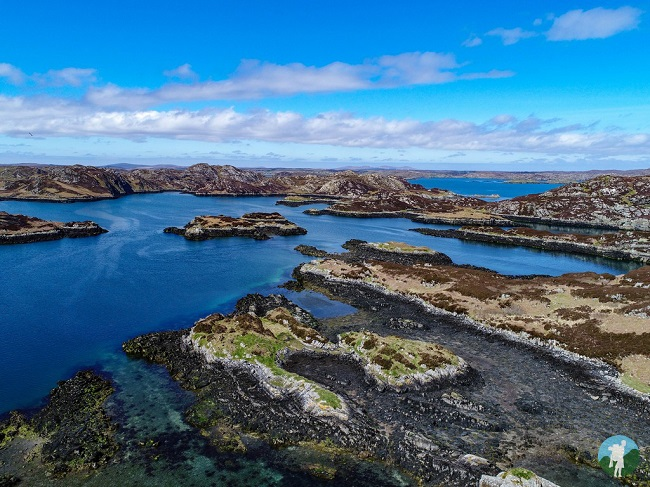 Isle of Lewis drone