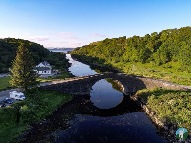 bridge over the atlantic drone oban