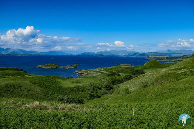 kerrera view to mull