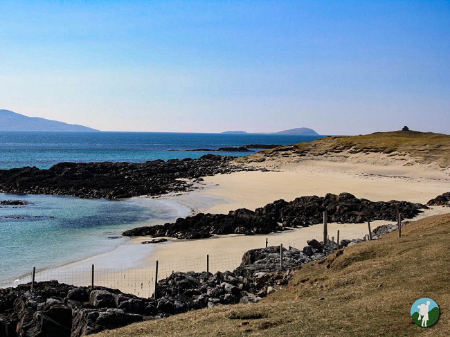 harris beach which scottish islands to visit