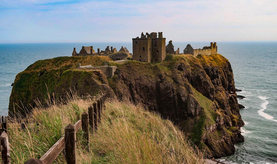 Clifftop Castles in Scotland