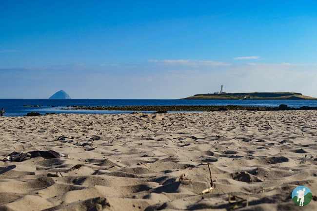weekend activities arran kildonan beach