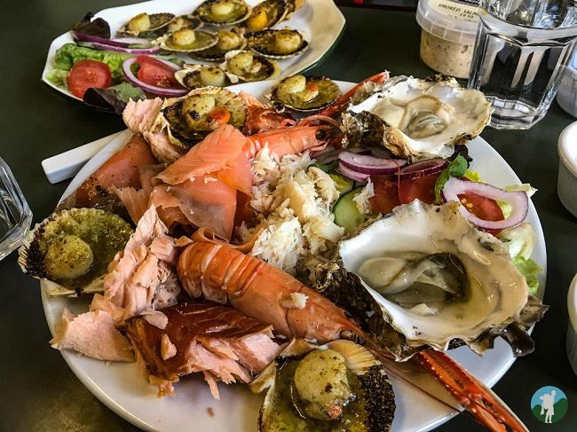 seafood skipness kintyre peninsula boathouse