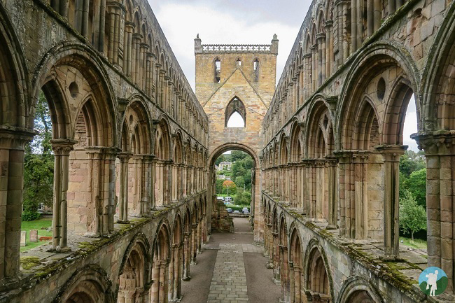best ruins scottish borders jedburgh