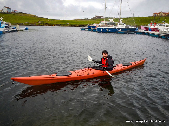 sea kayak shetland travel blog