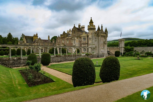 abbotsford house scottish borders itinerary