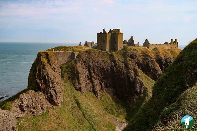 scotland road trip itinerary dunnottar castle