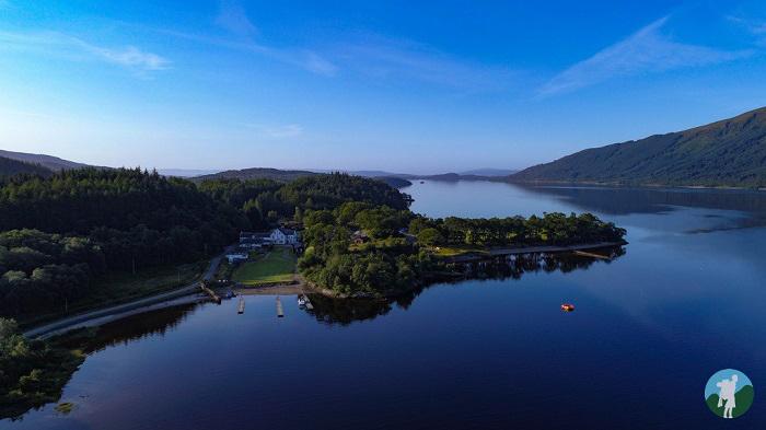 loch lomond aerial filming