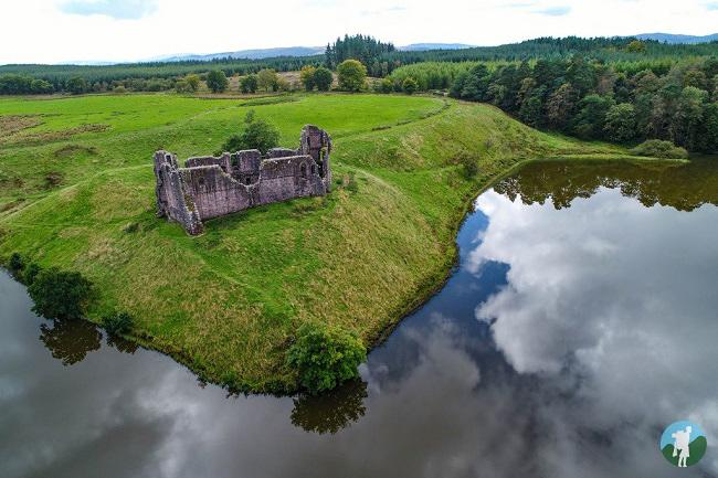 morton castle drone