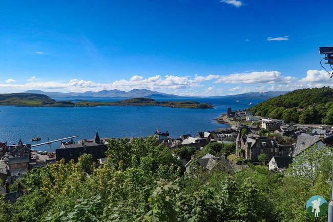 oban view scotland