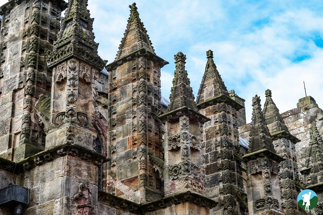 rosslyn chapel southern scotland itinerary