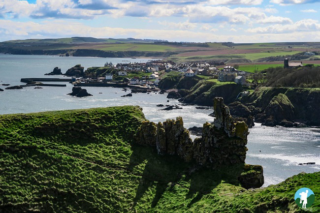 st abbs head scottish borders itinerary