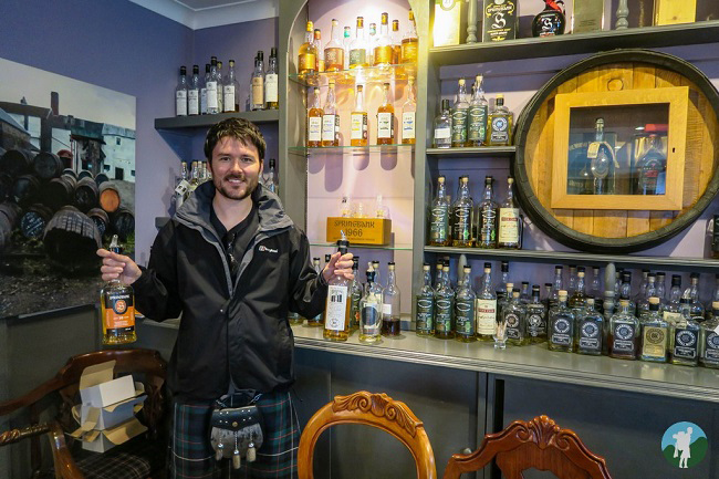 travels with a kilt blog kintyre whisky