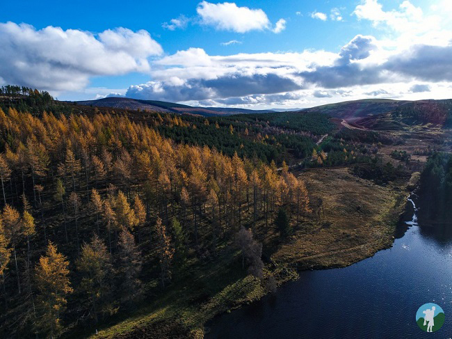 cateran trail drone