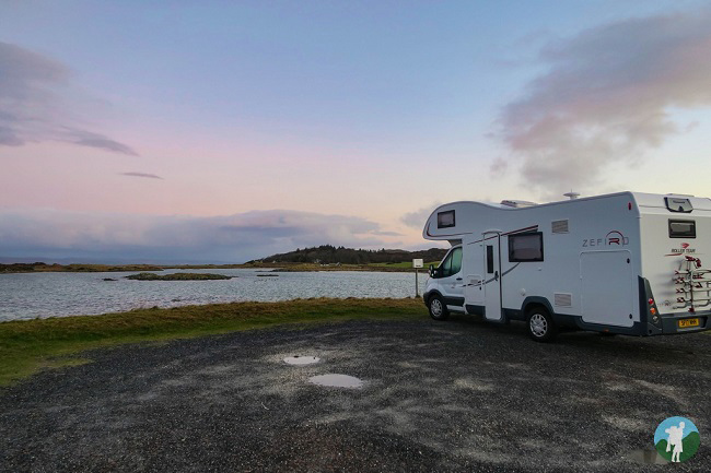 campervan hire scotland arisaig
