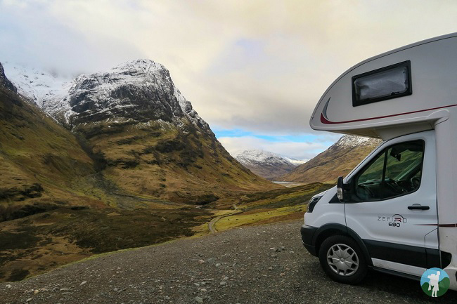 campervan hire scotland glen coe
