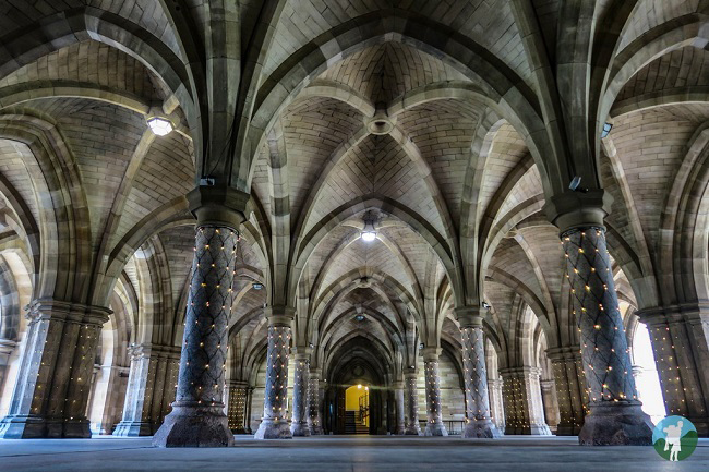glasgow university cloisters outlander