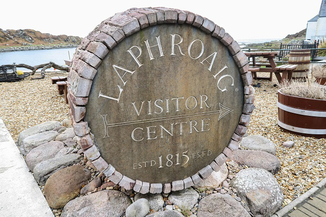 laphroaig whisky distillery visitor centre