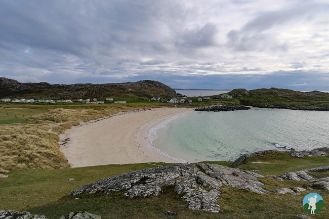 achmelvich beach north coast 500 campsites