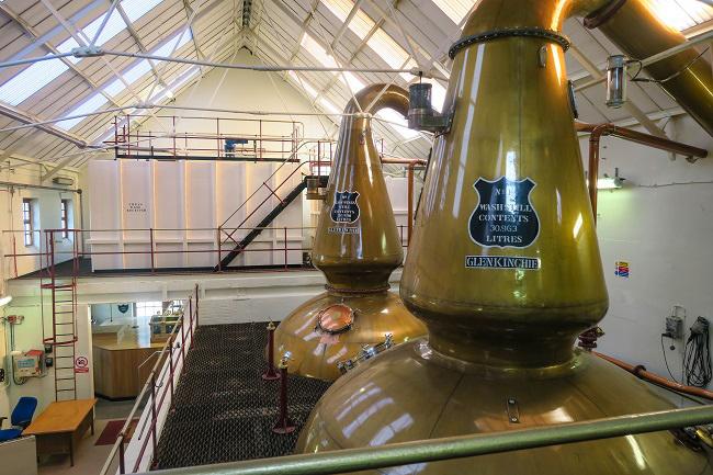 stills glenkinchie distillery