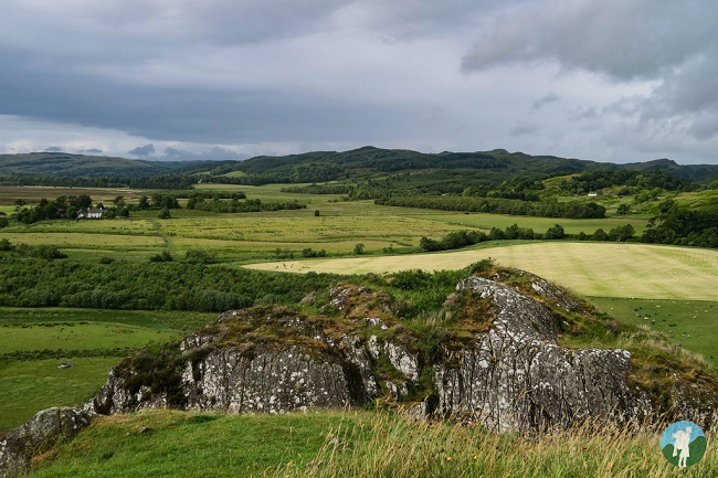 dunadd argyll view corryvreckan boat trips