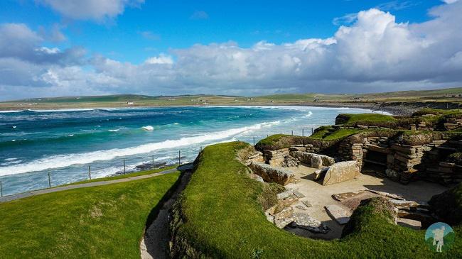 orkney day trips skara brae