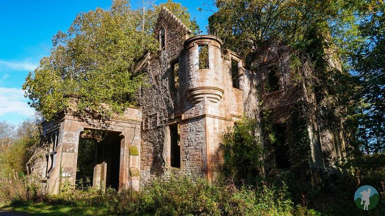 derelict places milkbank house lockerbie