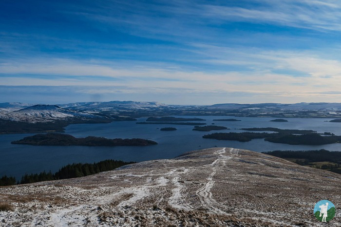 luss hiking routes scotland winter