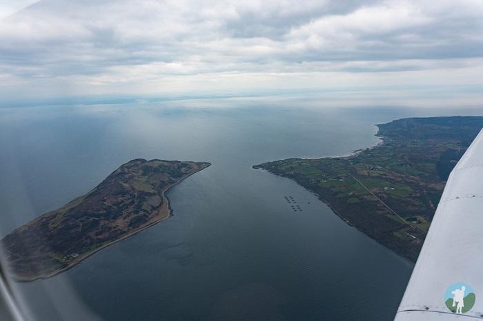holy isle scotland air