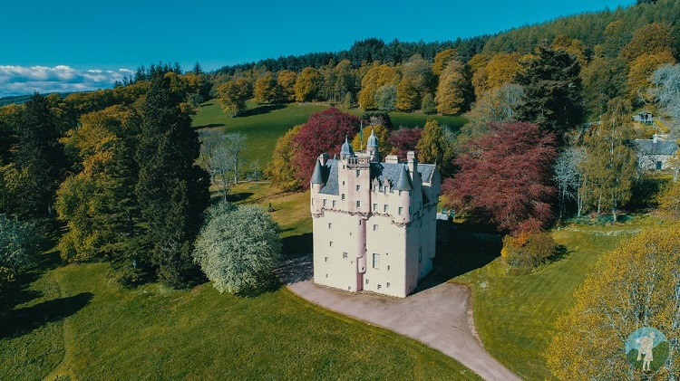 things to do aberdeenshire castles drone