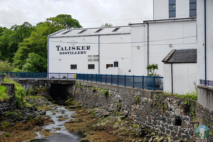 talisker whisky distillery