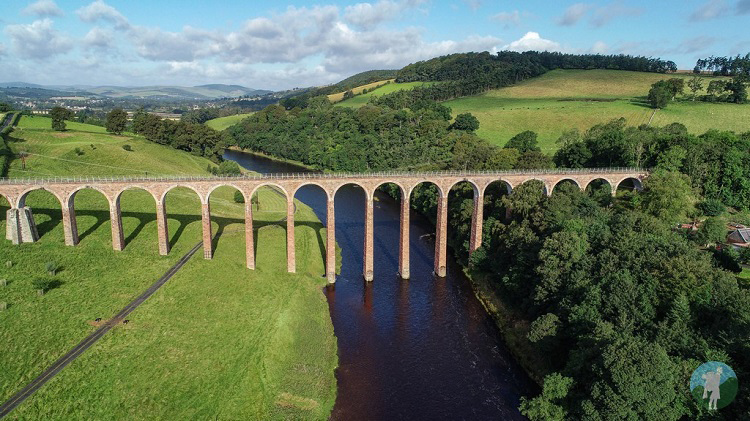 leaderfoot viaduct melrose