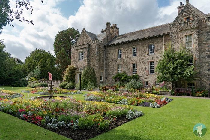 Old Gala House gardens galashiels