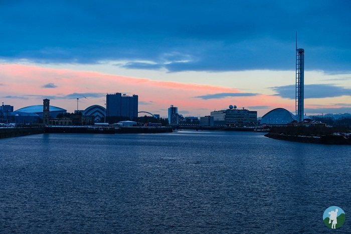 river clyde from riverside museum