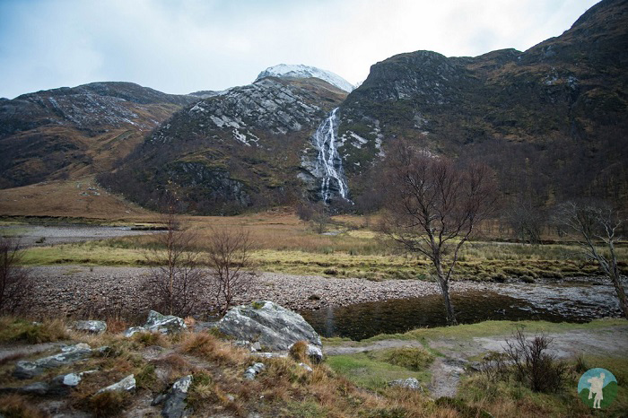 steall falls glen nevis fort william