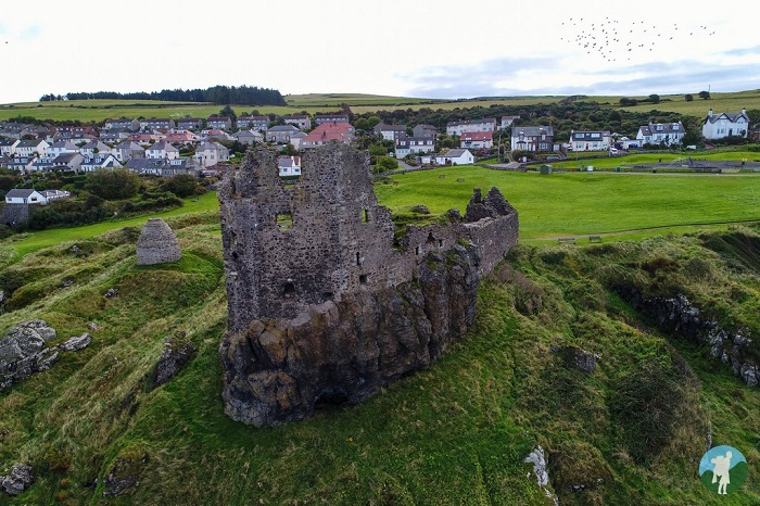 dunure castle outlander filming